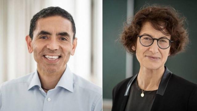 Financial Times Prof. Dr. Uğur Şahin ve Dr. Özlem Türeciyi yılın kişisi seçti