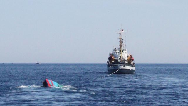 Vietnamda kargo gemisi battı: 15 kayıp