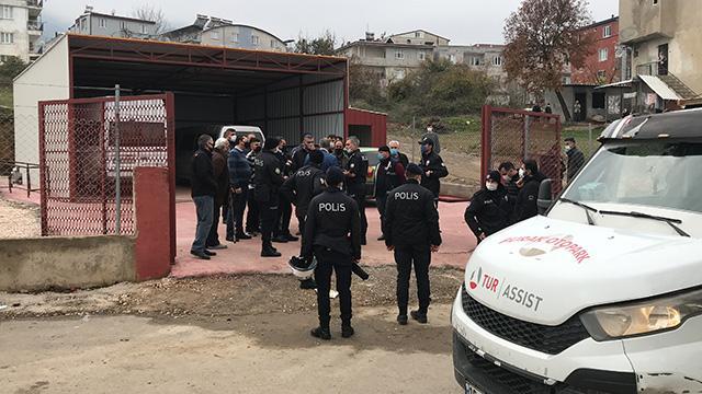Bursada kaçak yapı yıkımında gerginlik: 1 gözaltı