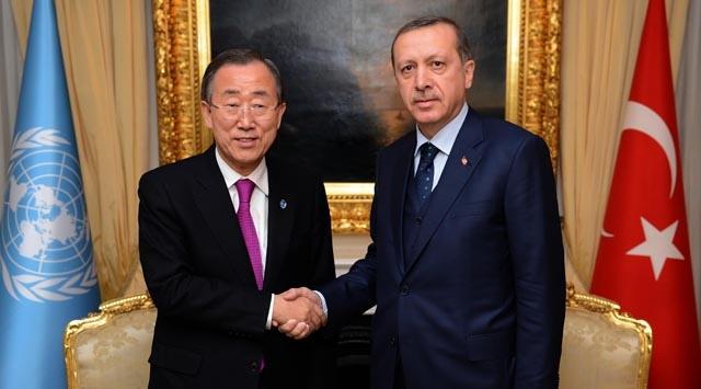 Ban Ki-Mun Başbakan Erdoğana bilgi verdi