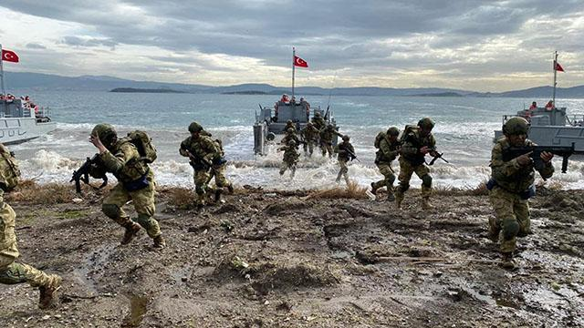 MSB: Amfibi Görev Grup Komutanlığı Harekata Hazırlık Eğitimleri tamamlandı