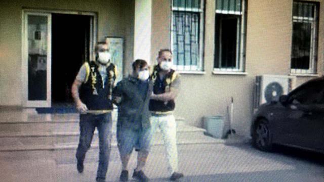 Yine maskesiz yakalandı, bu kez bekçiye saldırdı