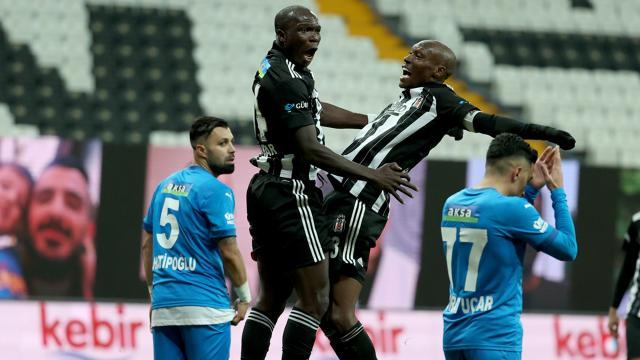 Beşiktaş fırsatı iyi değerlendirdi