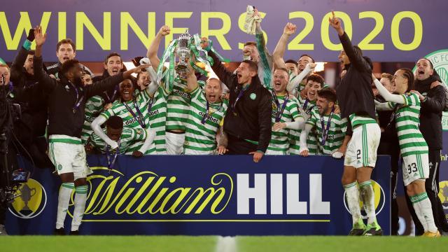 İskoçya Kupasının şampiyonu Celtic