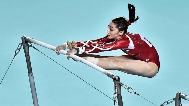 Genç cimnastikçiler Avrupa 4üncüsü
