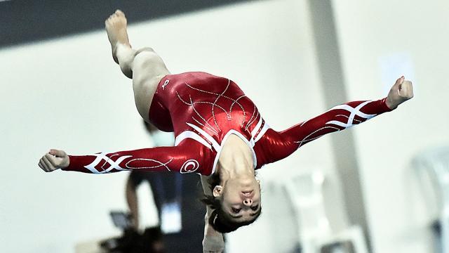 Artistik Cimnastik Milli Takımı takım finallerinde 4. oldu