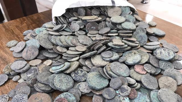 Diyarbakırda 1001 sikke ele geçirildi