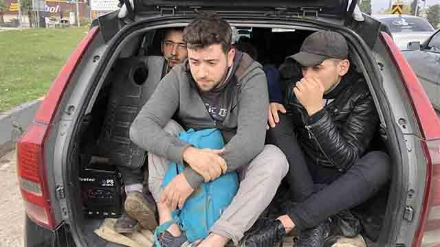 Hatayda 12 düzensiz göçmen yakalandı