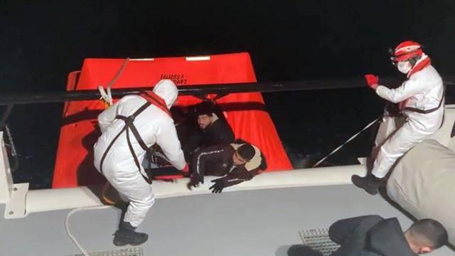 26 irreguläre Migranten wurden in Aydın aus türkischen Landgewässern gerettet