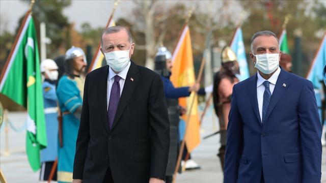 Irak basını Kazıminin Türkiye ziyaretini manşetten verdi