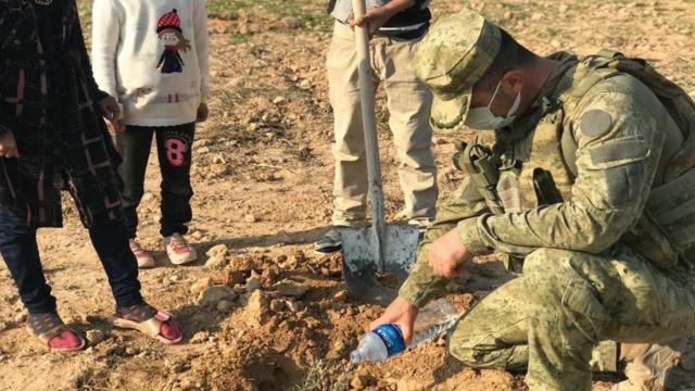 Barış Pınarı şehitleri anısına 525 fidan dikildi