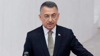 Cumhurbaşkanı Yardımcısı Oktay'dan şehit asker için taziye mesajı