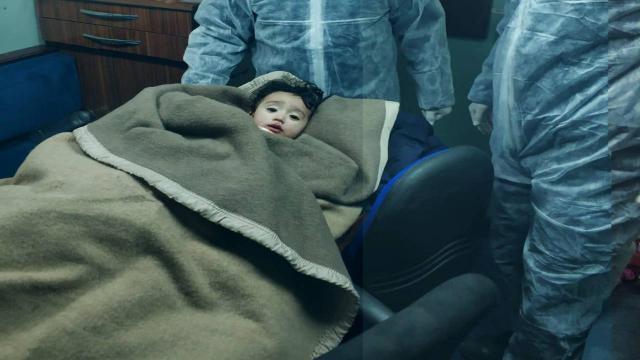 KKTC Sahil Güvenlik ekipleri göçmen bebeği ölümden kurtardı