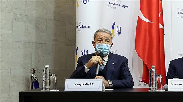 Bakan Akar: Karadenizde provokasyon ve gerilime karşı her türlü tedbiri alıyoruz
