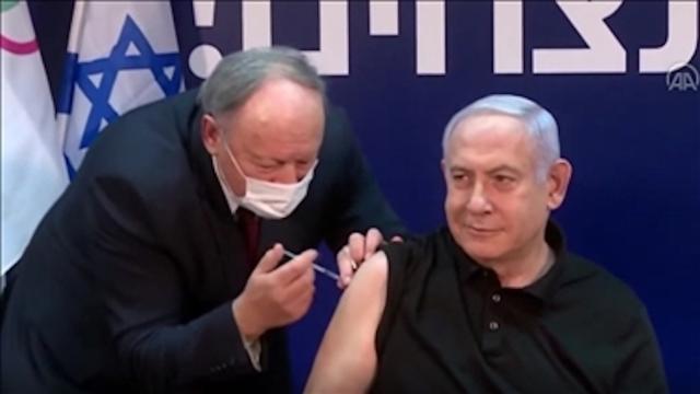 İsrailde COVID-19a karşı toplu aşılama başladı