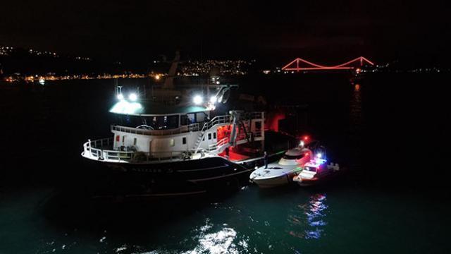 İstanbul Boğazındaki balıkçı tekneleri denetlendi