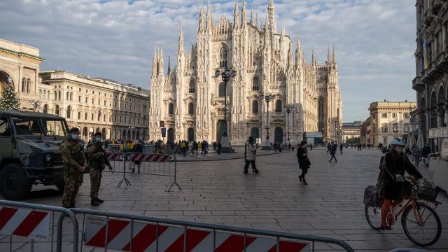 İtalyada yılbaşı tedbirleri açıklandı