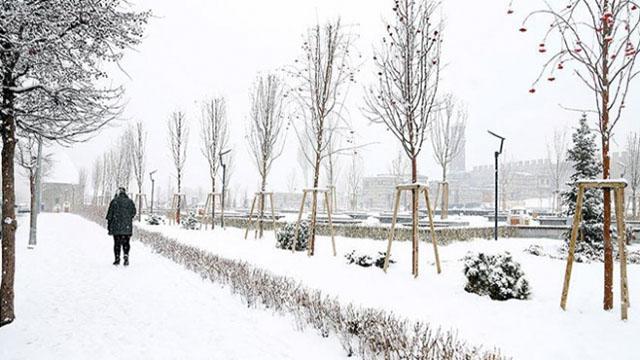Doğu Anadoludaki 6 ilde karla karışık yağmur ve kar bekleniyor