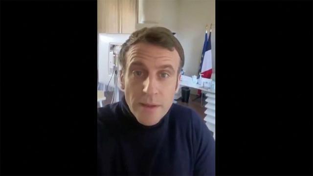 Koronavirüse yakalanan Macron, sağlık durumunu paylaştı