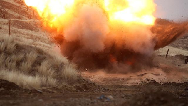 Ermenistanın Karabağda döşediği mayın patladı: 1 Rus asker öldü