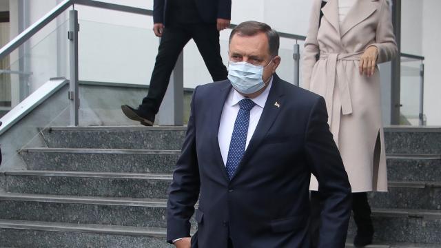Bosnalı Sırp lider Milorad Dodik hastaneye kaldırıldı