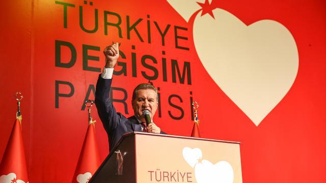 Türkiye Değişim Partisinin genel merkezi açıldı