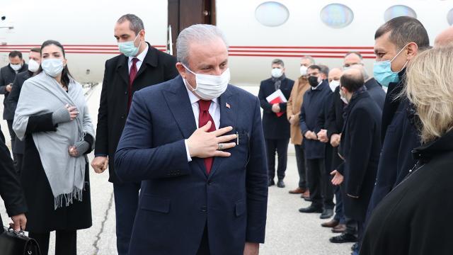 Meclis Başkanı Şentop, Kuzey Makedonyada