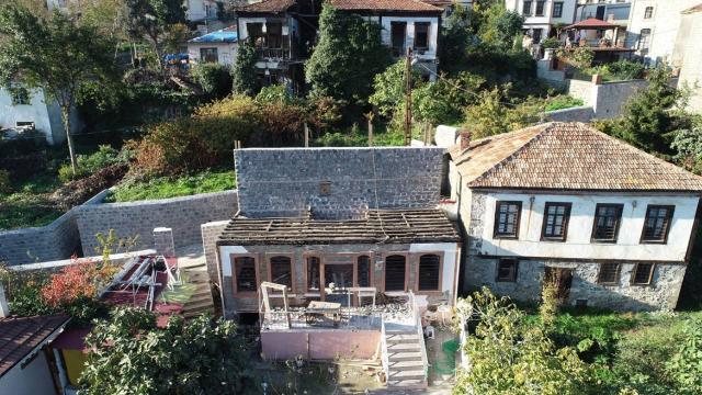 Trabzondaki tarihi mahallede 24 yapı restore edilecek