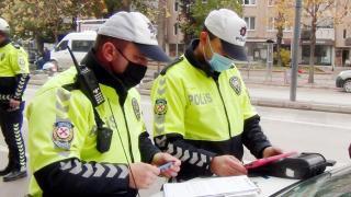 Drift yapan sürücüye 6 bin 700 lira ceza