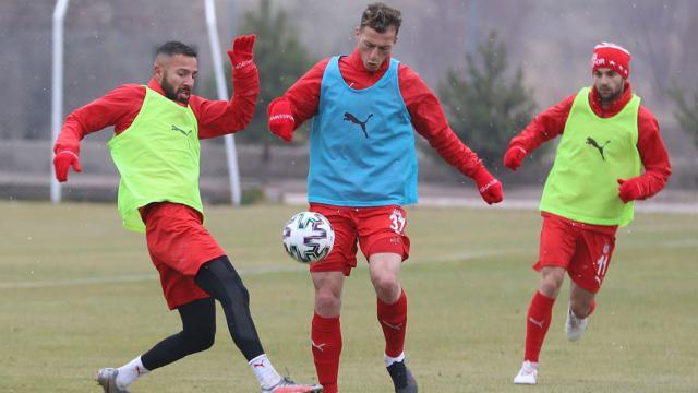 Sivasspor, Konyaspor maçına hazırlanıyor