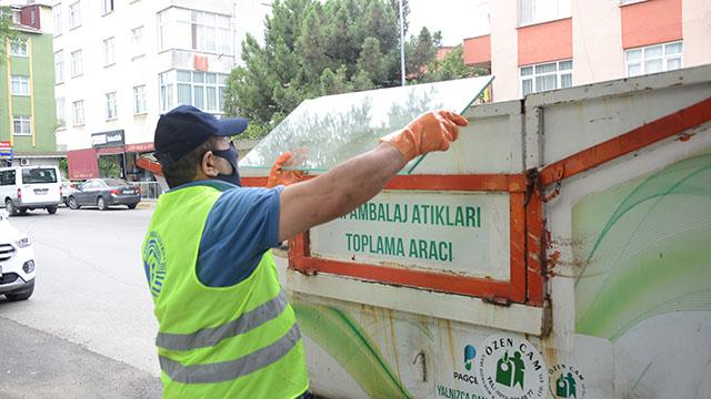 Tuzlada 110 bin ton evsel atık toplandı