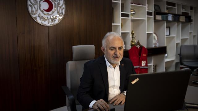 """Türk Kızılay Genel Başkanı Kınık, AAnın """"Yılın Fotoğrafları"""" oylamasına katıldı"""