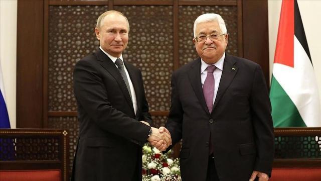 Putin ve Abbas Filistin meselesini görüştü