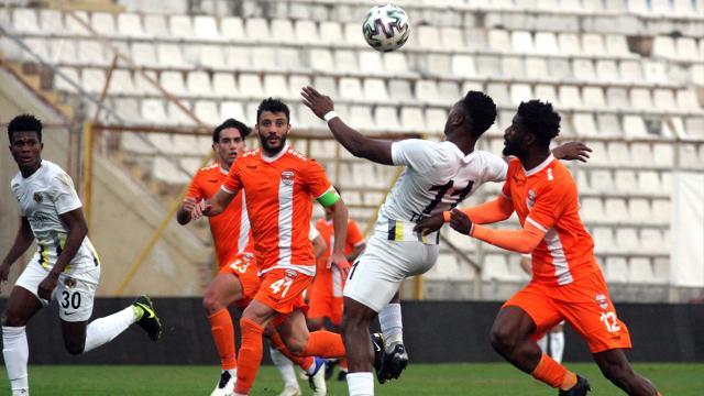 Adanaspor-Menemenspor maçında kural hatası
