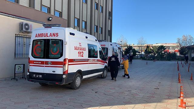 Adıyamanda soba zehirlenmesi: 4 kişi hastaneye kaldırıldı