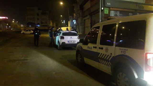 Polisin dur ihtarına uymayan sürücü aracı bırakıp kaçtı