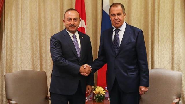 Bakan Çavuşoğlu, Rus mevkidaşı Lavrovla görüştü