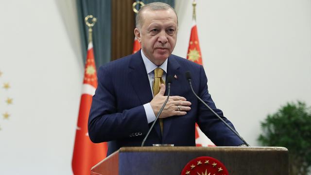 Cumhurbaşkanı Erdoğan: TOKİ konutları Türkiye-Arnavutluk dostluğunun yeni bir nişanesi