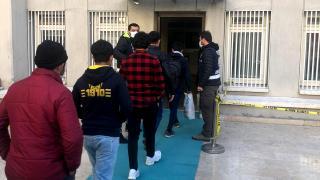 Kırklareli'nde 6 düzensiz göçmen yakalandı