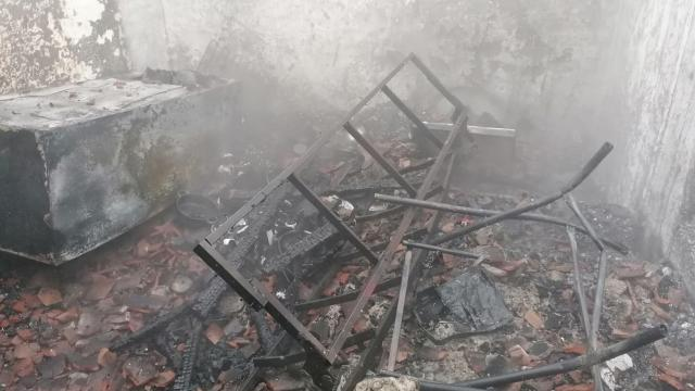 Manisada bir evde çıkan yangında 81 yaşındaki yatağa bağımlı kadın öldü