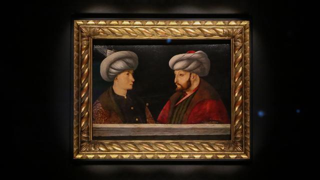 İBBnin satın aldığı Fatih portresine inceleme
