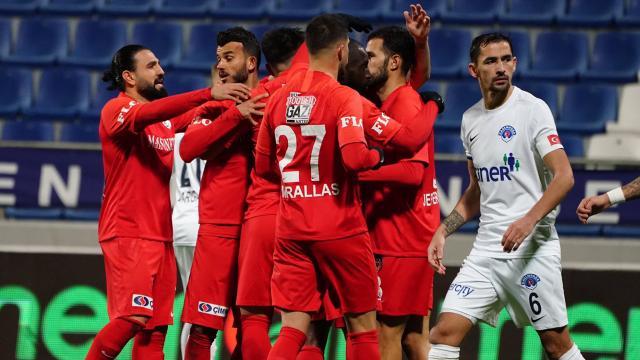Gaziantep FKdan dört dörtlük galibiyet