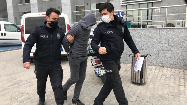 Kırklarelinde 35 suç kaydı bulunan hırsızlık şüphelisi tutuklandı
