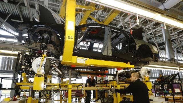 İngilterede otomobil üretimi yüzde 31 düştü