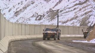 İran sınırına sensörlü modüler güvenlik duvarı