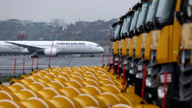 İstanbul Havalimanında kışa hazırlıklar tamamlandı