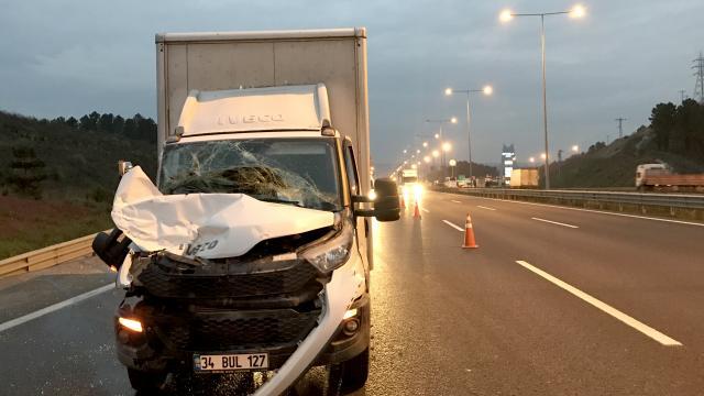 Çekmeköyde trafik kazası: 1 yaralı
