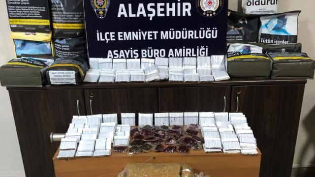 Manisada kaçak tütün operasyonunda 1 kişi yakalandı