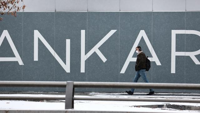 Ankarada kar yağışı etkili oldu