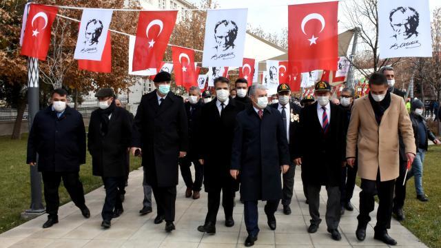 Atatürkün Kırşehire gelişinin 101. yıl dönümü kutlandı